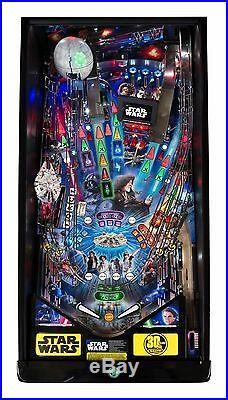NEW Stern Star Wars PREMIUM Pinball Machine Free Shipping