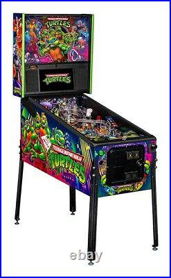 NIB Teenage Mutant Ninja Turtles Pro Pinball Machine Authorized Stern Dealer