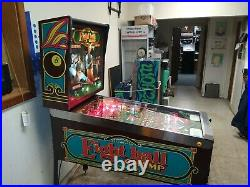 NICE 1985 Bally EIGHT BALL CHAMP pinball machine shopped FREE SHIPPING rare