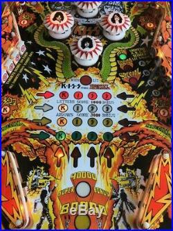 Near Mint 1979 Bally Kiss Pinball Machine