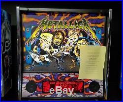 New Stern Metallica Pinball Arcade