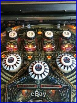 Nice 1980 Bally Space Invaders Pinball Machine