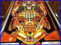 Nice Bally KISS Pinball Machine (Classic & Highly Collectible)