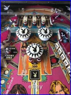 Nice Bally Playboy Pinball Machine 1978
