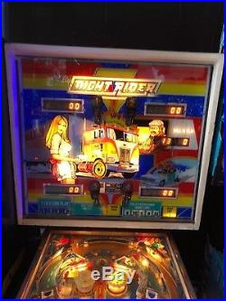 Night Rider pinball