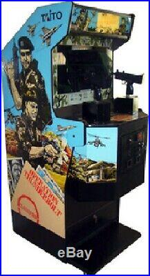OPERATION THUNDERBOLT ARCADE MACHINE by TAITO 1988 (Excellent Condition)