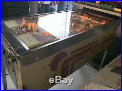 Old Chicago Pinball Machine Coin Op Bally 1976 Free Shipping John Dillinger