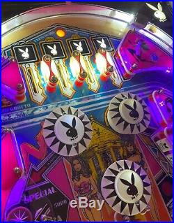 One of a Kind 1970's Bally Playboy Pinball Machine, Amazing Art Piece