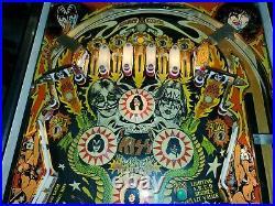Original 1979 BALLY KISS PINBALL MACHINE