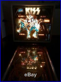 Original Ballys 1978 KISS Pinball machine