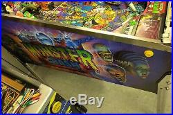 Original Monster Bash Pinball Machine1998 Williams-Can deliver 2 PATZ Kalamazoo