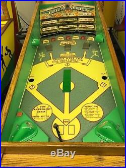 Original Very Rare United Deluxe Super Slugger Baseball in excellent condition