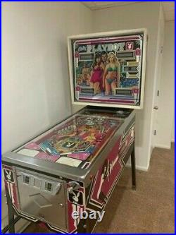 PLAYBOY PINBALL MACHINE- BALLYS 1978 MODEL in condition EXCELLENT condition