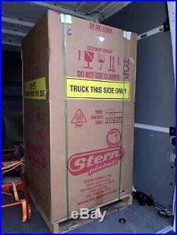 Pabst Blue Ribbon PBR Pinball Machine New In Box Free Shipping Rare 2016