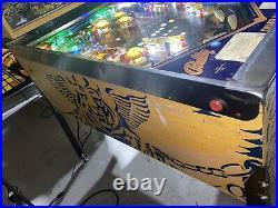 Paragon Pinball Machine Coin Op Bally LEDs 1979 Free Shipping