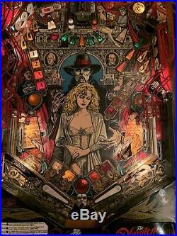 Phantom Of The Opera Pinball Machine By Data East