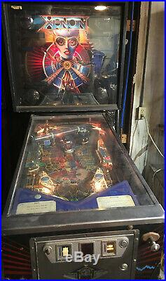 Pinball Coin machine Xenon Bally 1980