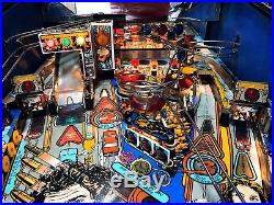 Pinball DataEast Lethal Weapon 3 1992 Flipper Working Order Condition FastShippi