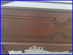Pinball Machine Bagatelle Seeburg Antique Pin Table Vintage Mechanical Wood Rail