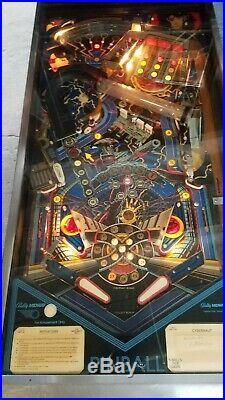 Pinball Machine Bally Midway Cybernaut