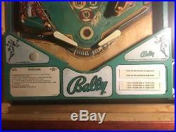 Pinball Machine Coffee Table, Bally Eight Ball 1977