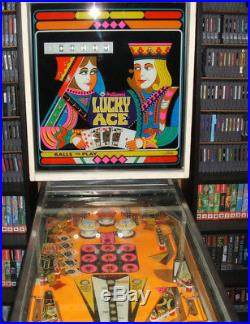 Pinball Machine Williams LUKY ACE single Player game