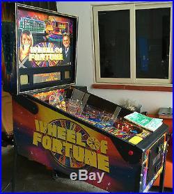 Pinball STERN Wheel Of Fortune 2007 USED Condition 9/10 PERFECT Flipper Machin