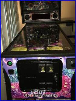 Pinball machine ghostbusters