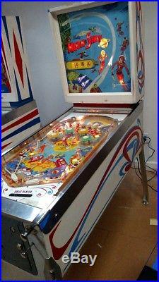 Pinball machines used
