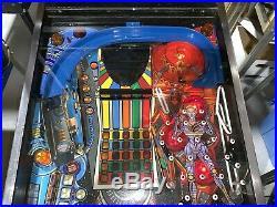 Pinbot Pinball Machine Williams Coin Op Arcade LEDS Free Ship 1986
