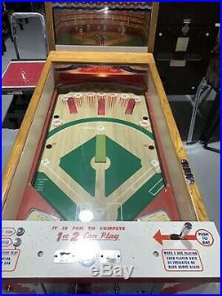 Pinch Hitter Williams Pitch and Bat Baseball Mechanical animation Free Shipping