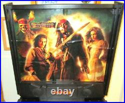 Pirates Of The Caribbean 3/4 Pinball Machine By Zizzle Dead Man's Chest