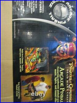 Pirates Of The Caribbean Dead Mans Chest Pinball Machine Zizzle In Original Box