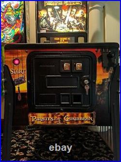 Pirates Of The Caribbean Tournament Play Pinball Machine