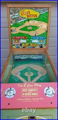 Pitch And Bat Pinball Bally Heavy Hitter! Will ship
