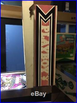 Playboy Bally 1978 Original Pinball Machine Coin Op Hugh Hefner LEDS $399 SHIPS