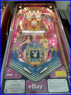 Playboy By Bally 1978 Original Pinball Machine Coin Op Hugh Hefner