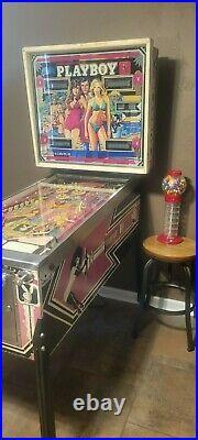 Playboy Pinball Machine- Ballys 1978 Model Fully Working