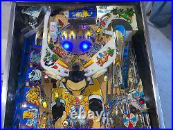 Popeye Pinball Machine Bally Coin Op Arcade LEDs Free Ship