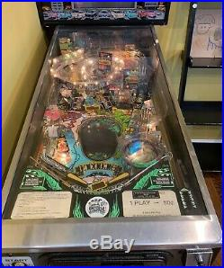 Price Cut! Last Chance! Creature From The Black Lagoon Pinball Machine Coin Op