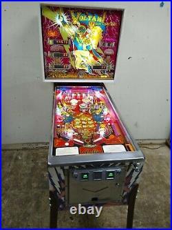 RARE! 1979 Bally VOLTAN ESCAPES COSMIC DOOM pinball shopped works-FREE SHIPPING