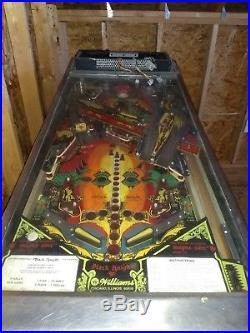 RARE! Black Knight Pinball 1980 machine by Williams