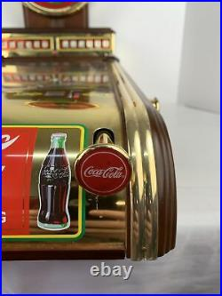 Rare Franklin Mint Deluxe Edition Coca Cola Collectors Coke Pinball Machine