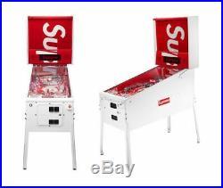 Rare Supreme X Stern Pinball Machine BNIB