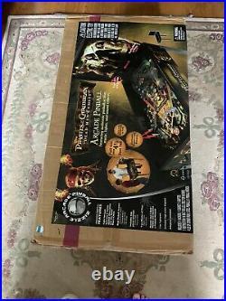 Rare ZIZZLE Pirates of the Caribbean Dead Man's Chest Pinball Machine NEW