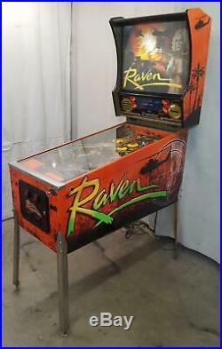 Raven by Gottlieb COIN-OP Pinball Machine