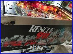Rescue 911 Gottlieb 1994 Vintage Pinball Machine LED Upgraded