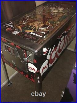 Restored Williams Gorgar pinball machine