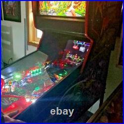 Revenge from Mars 3D Pinball Machine Bally Arcade 1999 LED Upgrade EXTRAS/Topper