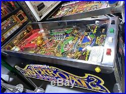 Riverboat Gambler Pinball Machine Williams 1990 Free Shipping